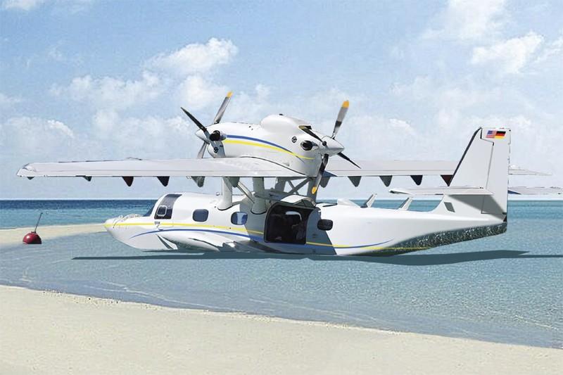 Cette image du prototype du Seastar de Dornier... (Photo fournie par Dornier)