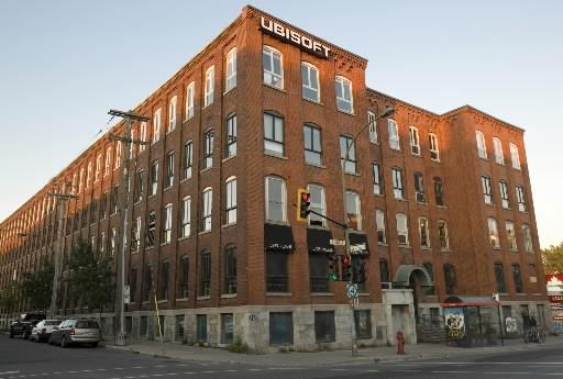 Les bureaux d'Ubisoft à Montréal... (Photo: David Boily, La Presse)