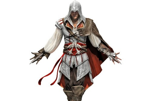 Ezio Auditore di Firenze, héros du jeu Assassin's... (Photo fournie par Ubisoft)