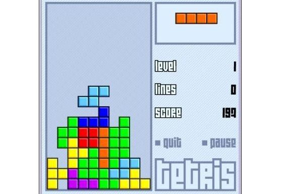 Le jeu Tetris...