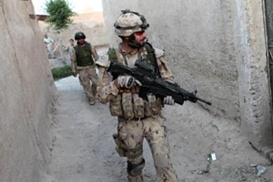 Soldat canadien en Afghanistan.... (Photo: Reuters)