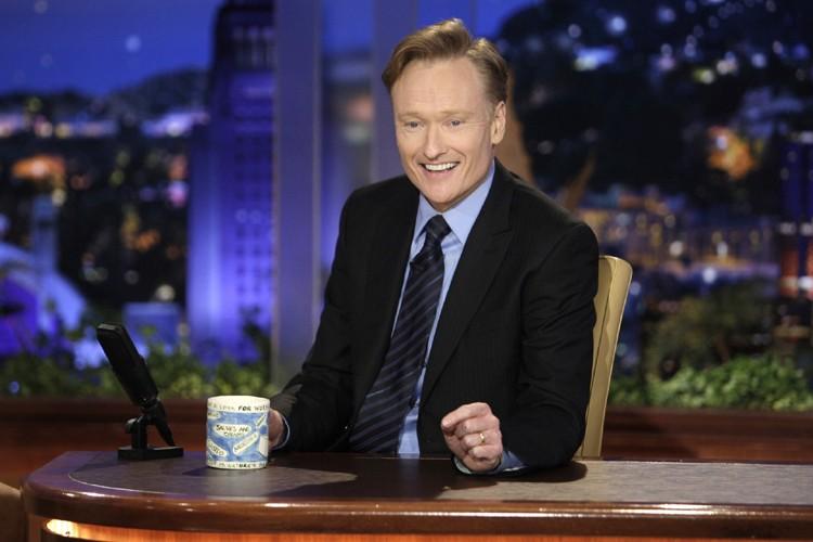 Conan O'Brien a pris le relais de Jay... (Photo: AP)