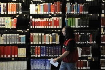 Le livre pique du nez au Québec. Après sept... (Photo: Bernard Brault, La Presse)