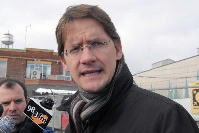 Le porte-parole péquiste en matière d'énergie, Sylvain Gaudreault... (Le Quotidien, Rocket Lavoie)