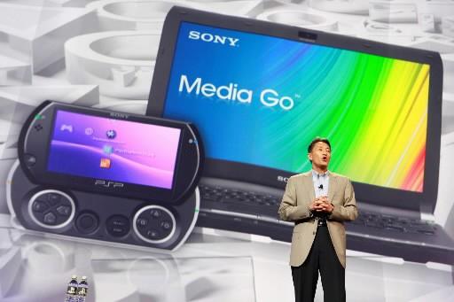 La «PSP Go» de Sony... (Photo AP)