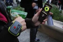 Une montre verte est testée en France depuis le 15 mai, et arrive, en plus de...