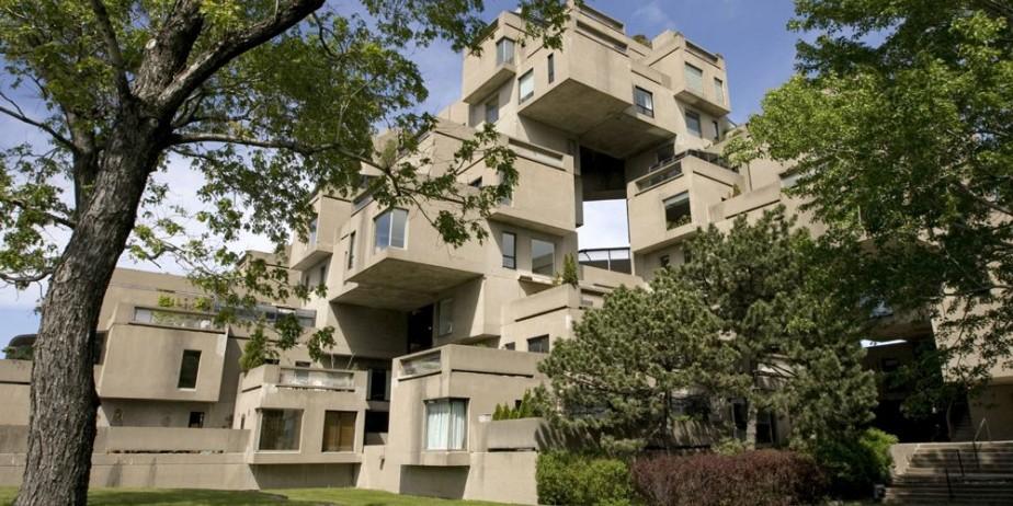 Habitat 67 a été construit à l'aide de... (Photo: Alain Roberge, La Presse)