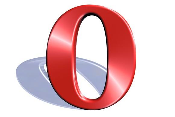 Le logo du navigateur Opera...