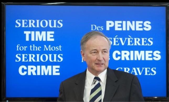 Le ministre fédéral de la Justice, Rob Nicholson... (La Presse Canadienne)
