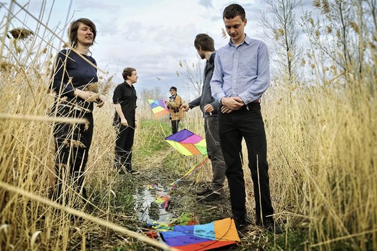 Le groupe Clues, nouveau véhicule de l'indie montréalais.... (Photo: Yannick Grandmont)