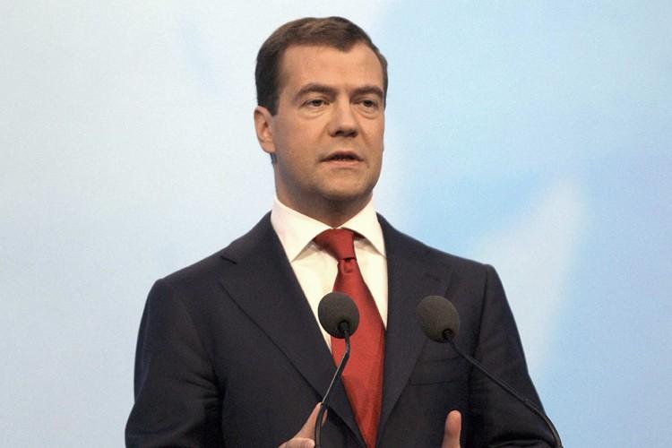 Dmitry  Medvedev... (Photo: Reuters)