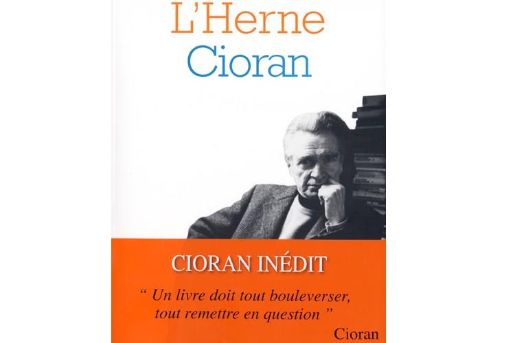 Les Cahiers de L'Herne, de Cioran....
