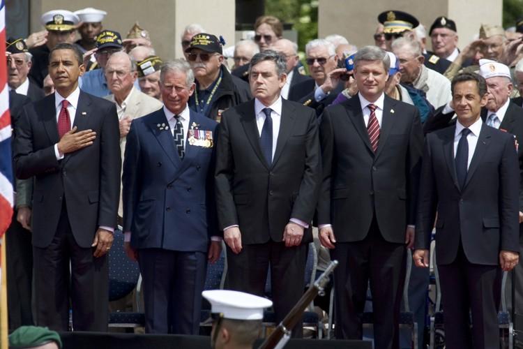 Barack Obama, le prince Charles, Gordon Brown, Stephen... (Photo: Reuters)