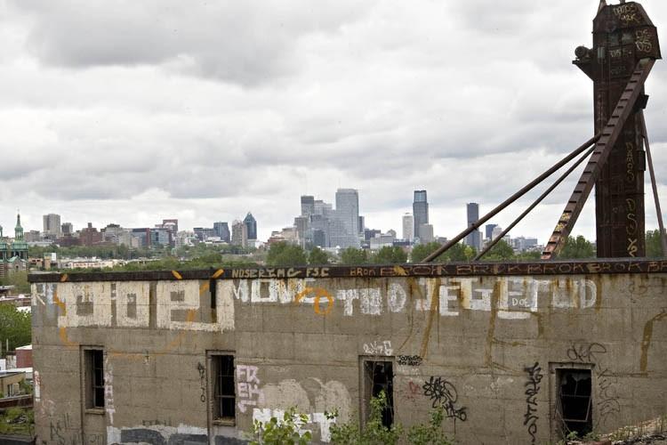 L'usine désafectée de la compagnie Canada Malting, sur... (Photo: Patrick Sanfaçon, La Presse)