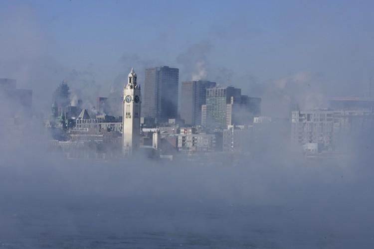 En 2008, l'air était de mauvaise qualité une... (Photo: Alain Roberge, Archives La Presse)