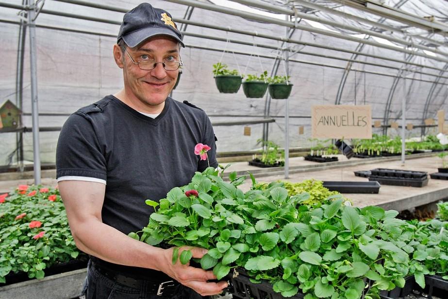 «J'aime semer, entretenir et faire des mélanges de... (Photo Robert Mailloux, La Presse)