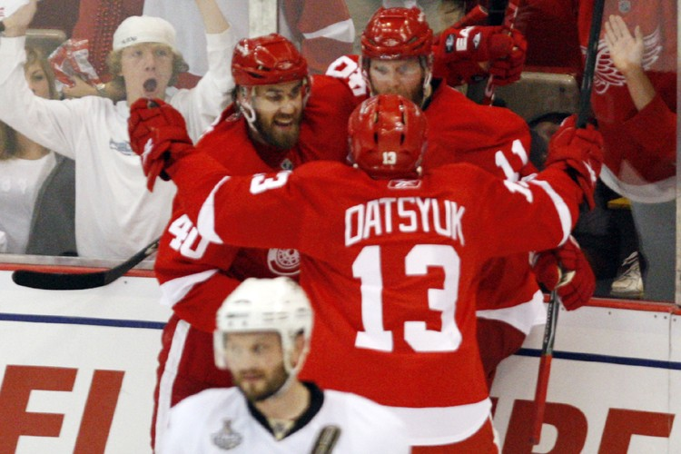 Aussi bons soient-ils, les Red Wings de Detroit sont nettement... (Photo: PC)
