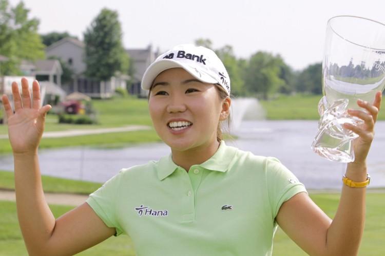 In-Kyung Kim a remporté la Classique State Farm avec panache,... (Photo: AP)