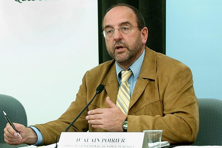 Le docteur Alain Poirier, directeur national de la... (Photo: Jean-Marie Villeneuve, Le Soleil)