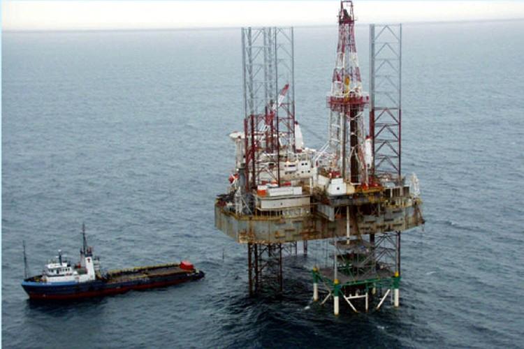 Une plateforme pétrolière de Shell dans le delta... (Photo: AP)