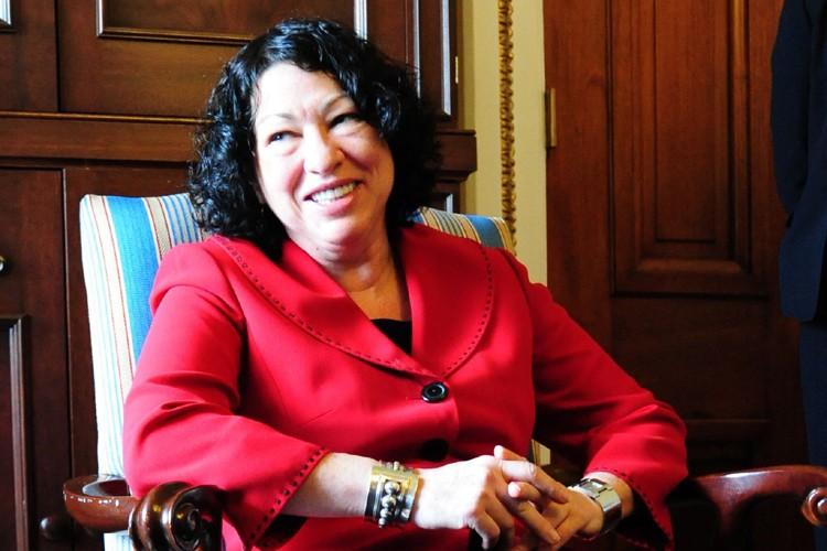 Sonia Sotomayor... (Photo: AFP)