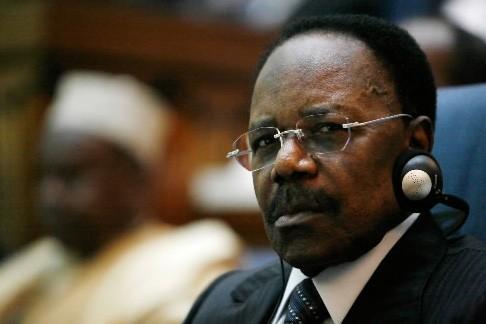 Le défunt président du Gabon, Omar Bongo... (Photo: archives AP)