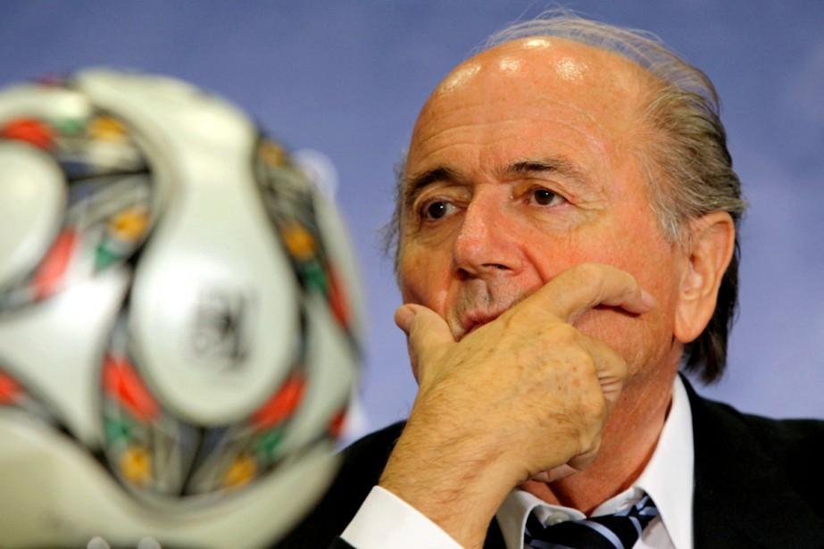 Le président de la FIFA, Joseph Blatter... (Photo: AP)
