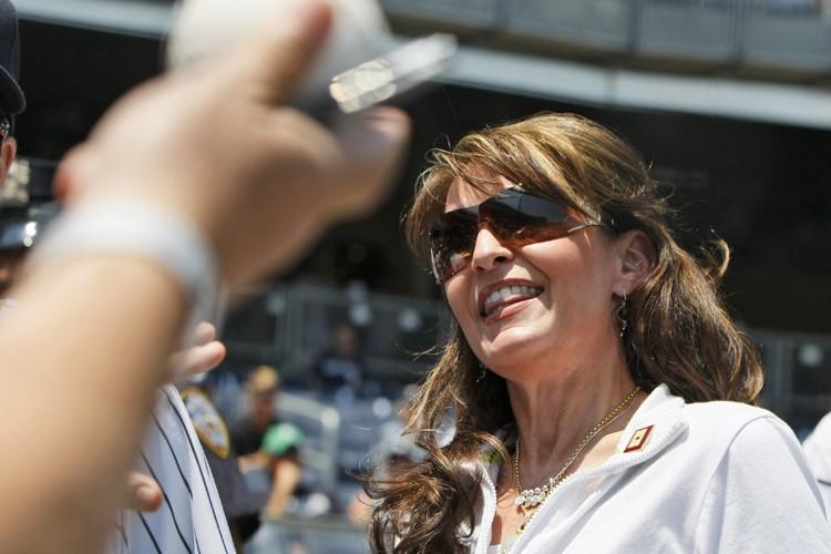 Dimanche dernier, Sarah Palin, ex-candidate à la vice-présidence... (Photo: AP)