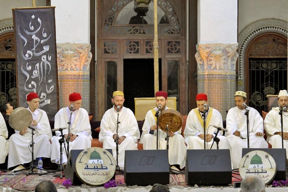 L'ensemble Taybah, en spectacle jeudi soir, regroupe une... (Photo fournie par le Festival du monde arabe)