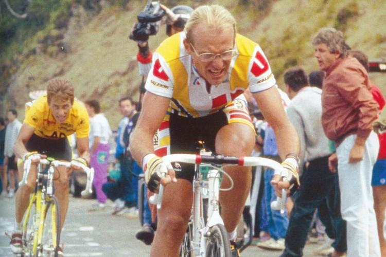 Laurent Fignon a remporté le Tour de France...
