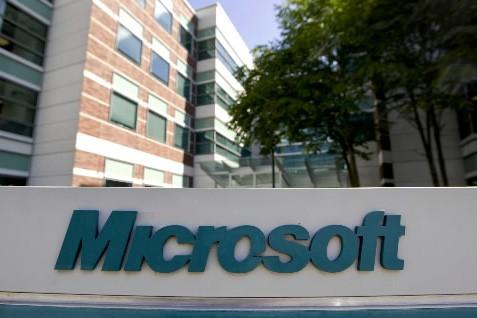 Les bureaux de Microsoft à Washington... (Photo: Bloomberg News)