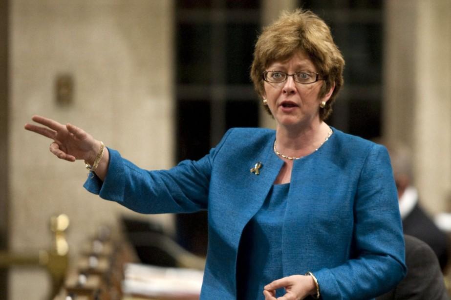 Diane Finley, ministre des Ressources humaines.... (Photo La Presse Canadienne)