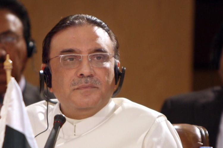 Le président du Pakistan, Asif Ali Zardari.... (Photo: AFP)