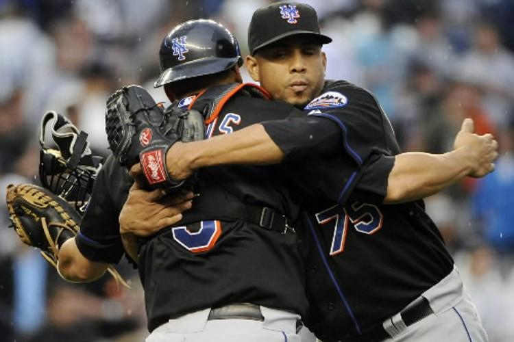 Francisco Rodriguez (à droite) et Omir Santos, des... (Photo: AP)