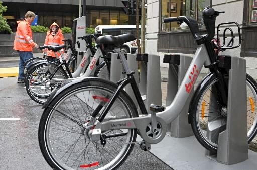 Stationnement de Montréal a commandé 5000 Bixi à... (Photo François Roy, La Presse)