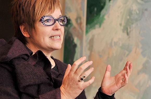 À Québec, la nouvelle directrice du Musée national... (Photo: Patrice Laroche, archives Le Soleil)