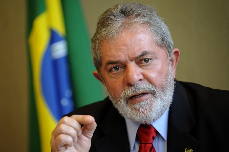 Le président brésilien, Luiz Inacio Lula da Silva... (Photo:  AFP)