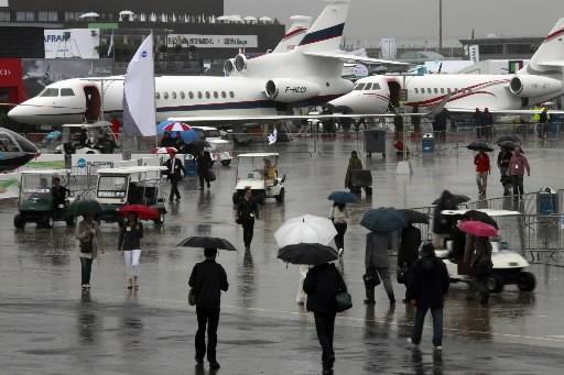Le grand rendez-vous de l'aéronautique s'est ouvert hier... (Reuters)