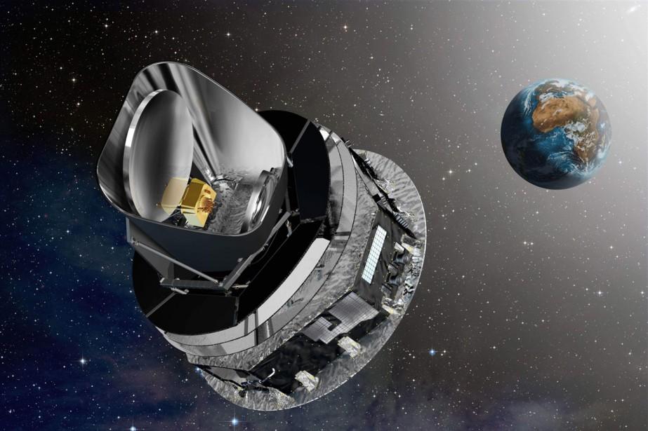 Le miroir de l'observatoire Herschel, chargé d'étudier la... (Archives AFP)