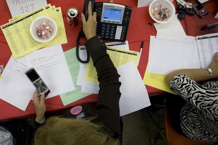 La popularité du téléphone cellulaire gagne sur la téléphonie... (Photo: NYT)