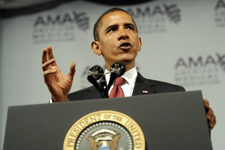 Le président Barack Obama a mené lundi une entreprise de... (Photo: Reuters)