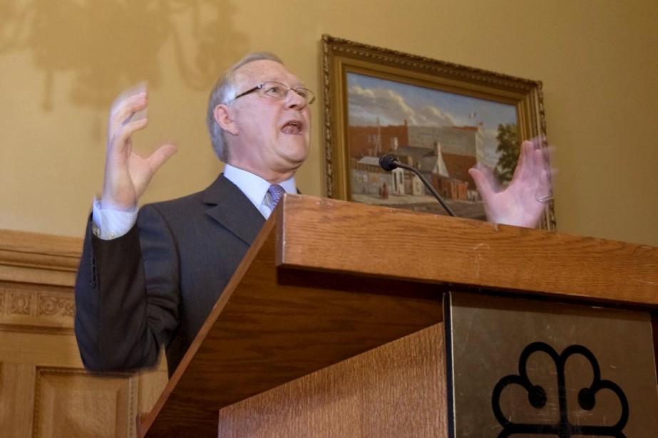 Le maire de Montréal, Gérald Tremblay.... (Photo: Alain Roberge, La Presse)