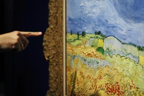 Quelque 120 lettres du peintre néerlandais Vincent Van Gogh,... (Photo: AP)