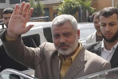 Le chef du Hamas, Ismaïl Haniyeh.... (Photo: AP)