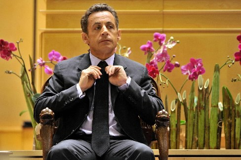 Nicolas Sarkozy... (Photo: AFP)
