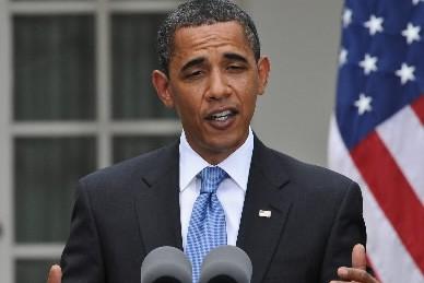 Le président américain Barack Obama... (Photo: AFP)