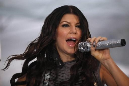 Fergie de Black Eyed Peas... (Reuters)