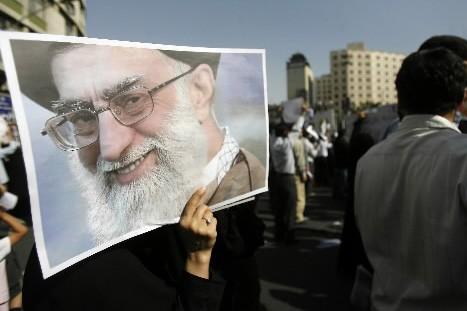 L'ayatollah Ali Khamenei... (Photo: AFP)
