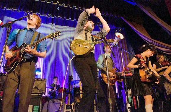 Les groupes québécois qui chantent en anglais comme... (Photo La Presse Canadienne)