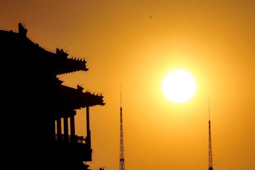Le Soleil vient d'entrer dans un nouveau cycle d'activité... (Archives AFP)